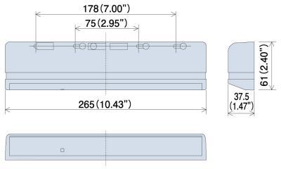HR400 Dimensions